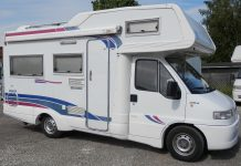 Autocaravan usati a meno di 10.000 euro