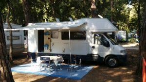Un Camper usato venduto da ABC camper di Pistoia
