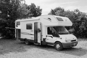CI RIVIERA GARAGE autocaravan mansardato usato in vendita da ABC camper a Pistoia