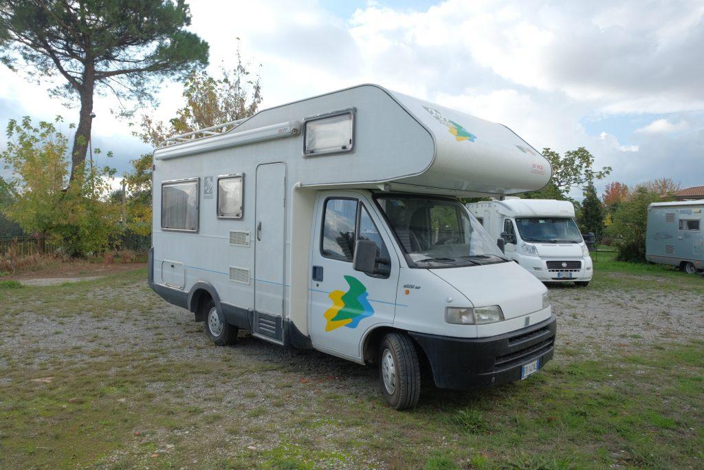 Un camper usato per cominciare bene: Knaus traveller in vendita da ABC camper