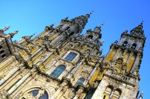 La cattedrale di Santiago die Compostela