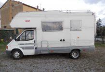 Camper usato Rimor europeo 607 ford 2500 td ruote gemellate anno 1999