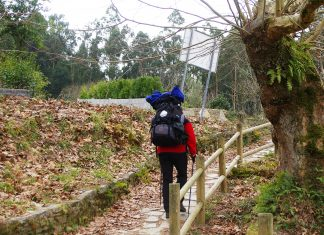 finis terrae: un pellegrino lungo il cammino di Santiago