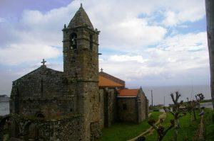 una chiesa romanica lungo il percorso di Santiago
