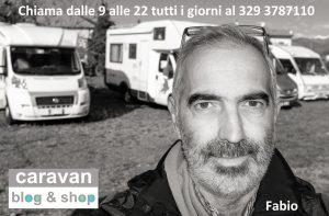 Fabio Cappellini , clikka sulla foto per entrare nella pagina contatto di ABC camper