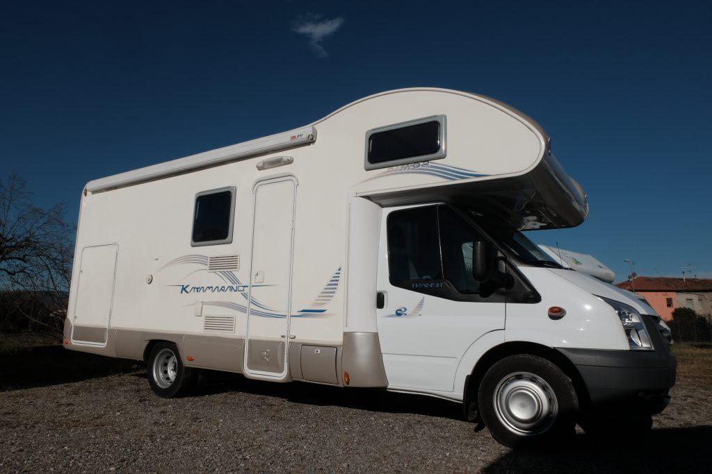 Autocaravan usato Rimor Katamarano 5 Garage, disponibile da ABC camper a Pistoia