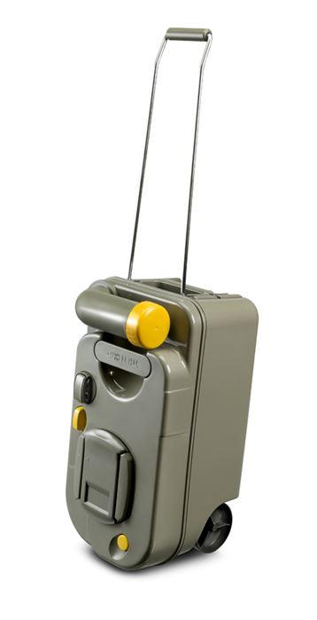 La nuova Cassetta wc con ruote e maniglia estraibile, compatibile con tutti i wc c200 Thetford, qualsiasi sia l'anno di produzione.