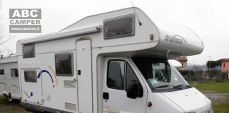 Hymer camp swing 694