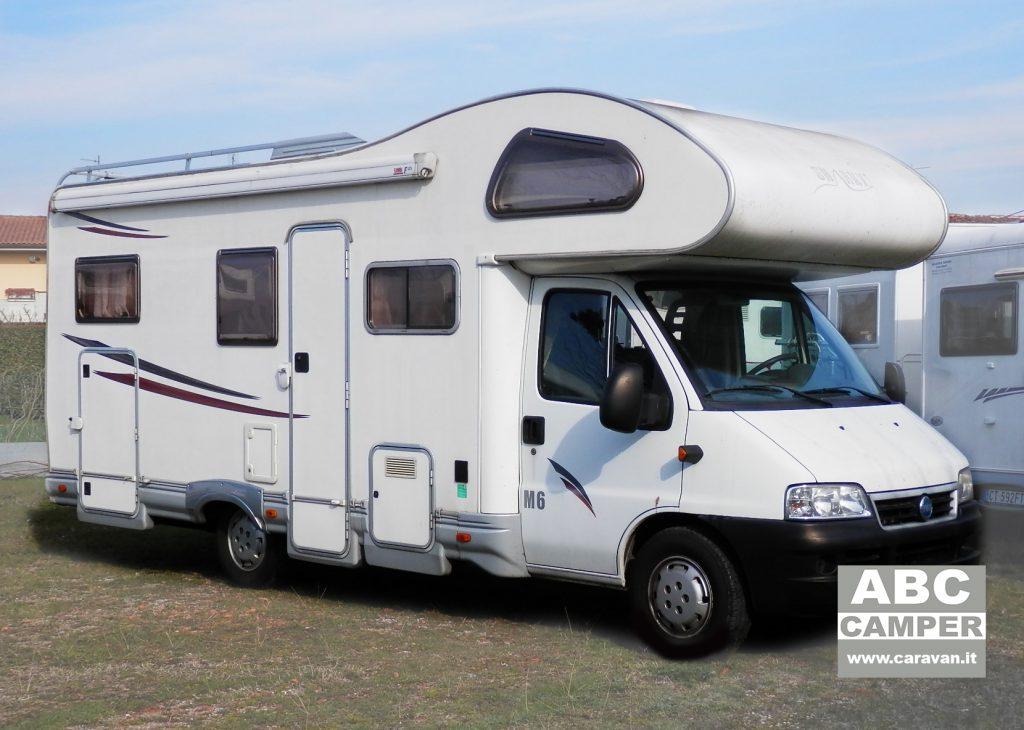 autocaravan sharky m6 usato, da abc camper pistoia