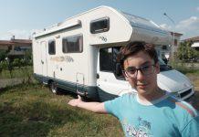 Ecco un camper usato per la famiglia: dueerre start 480