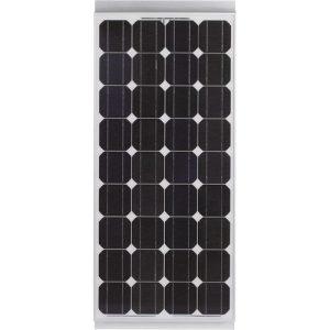 Pannello solare 100 watt monocristallino completo di regolatore, cavo e kit di montaggio
