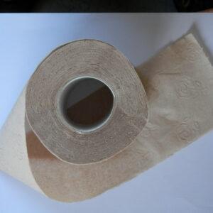 Carta igienica riciclata biodegradabile confezione 96 rotoli (24 pacchi da 4)