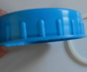 Flangia di fissaggio tappo serbatoio acqua interno Hymer B klasse