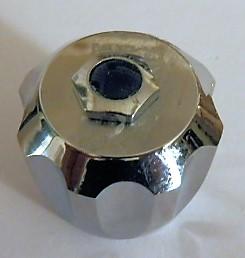 Pomello per rubinetti a stelo anni 70-80