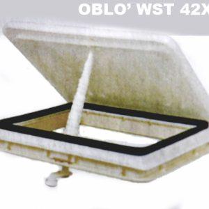Oblò Wst 42x42 per Westfalia e altri camper tedeschi anni 80