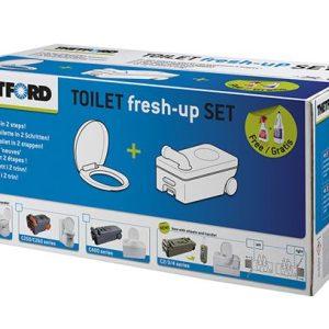 Thetford Fresh up Set C200 nuovo modello con maniglia e rotelle.