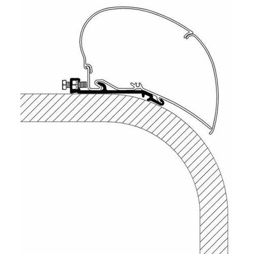 Kit Installazione Profili Piatti 4,0 Metri Per Serie 6