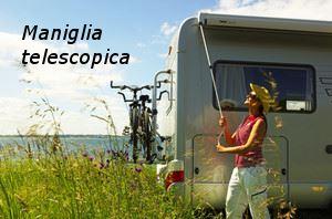 Veranda Thule Omnistor 5003 Lunghezza 4,55 M Colore Blue Sky