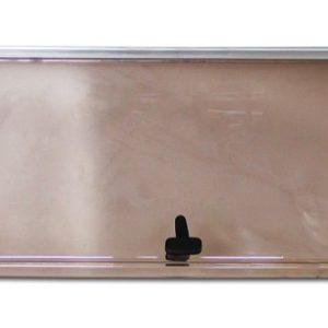 Vetro ricambio x Finestra tipo s4 Seitz 1450x600 mm, vetro 1518x534 mm