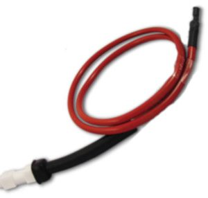 CAVETTO ACCENSIONE CON CANDELETTA MODELLO 5211/4211 con elettrodo curvo