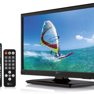 TV LED HEVC digitale terrestre e satellitare da 20 pollici