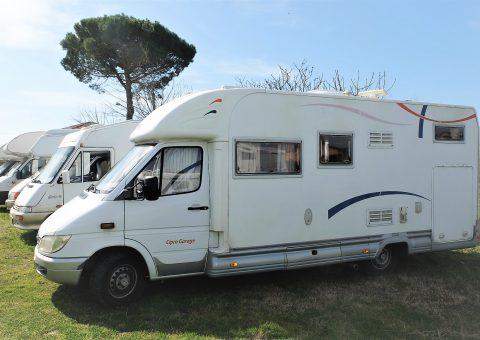 C.I. Cipro Garage su Mercedes 316 CDI 160 cv con 37300 km Originali