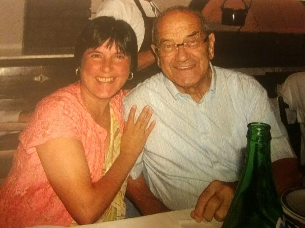 Mia moglie Franca con Erwin Hymer  2005