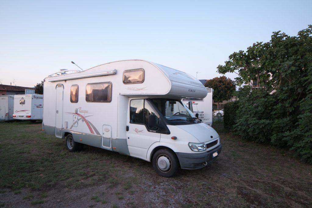 Rimor Europeo NG6 camper usato a Pistoia, toscana, garantito da ABC Camper